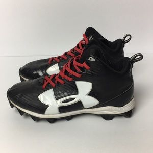 Boys Youth Under Armour Football Cleats 6Y